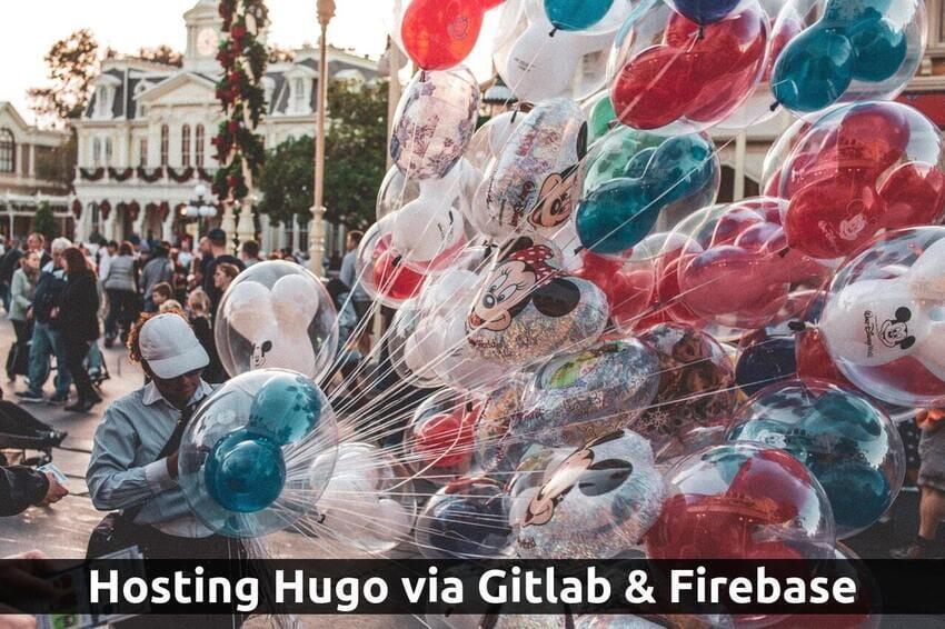 Hugo Hosting with Gitlab and Firebase