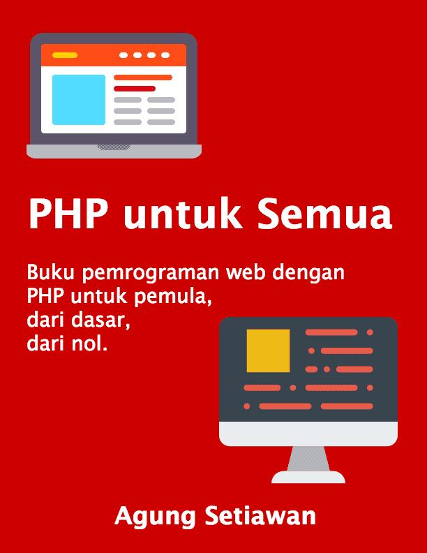 Buku Belajar PHP untuk Semua